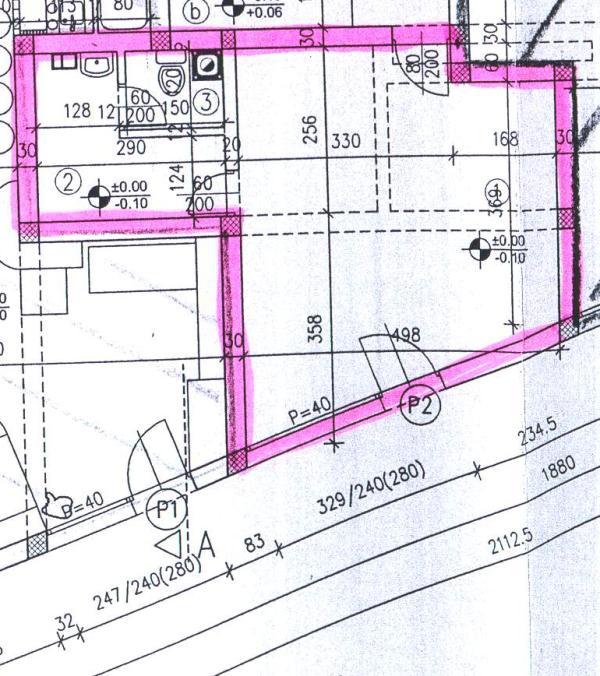 Poslovni prostor 31,60 m² u centru Koprivnice