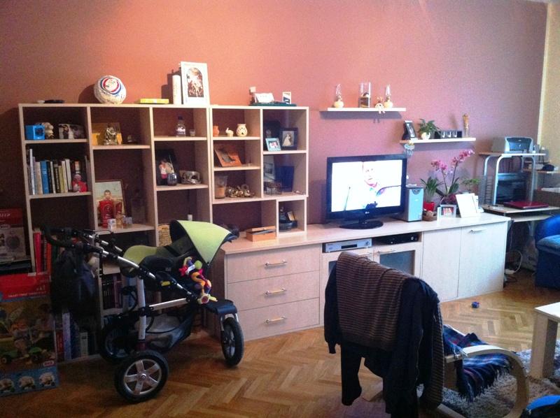 3-sobni stan 70 m², strogi centar, vanjska garaža