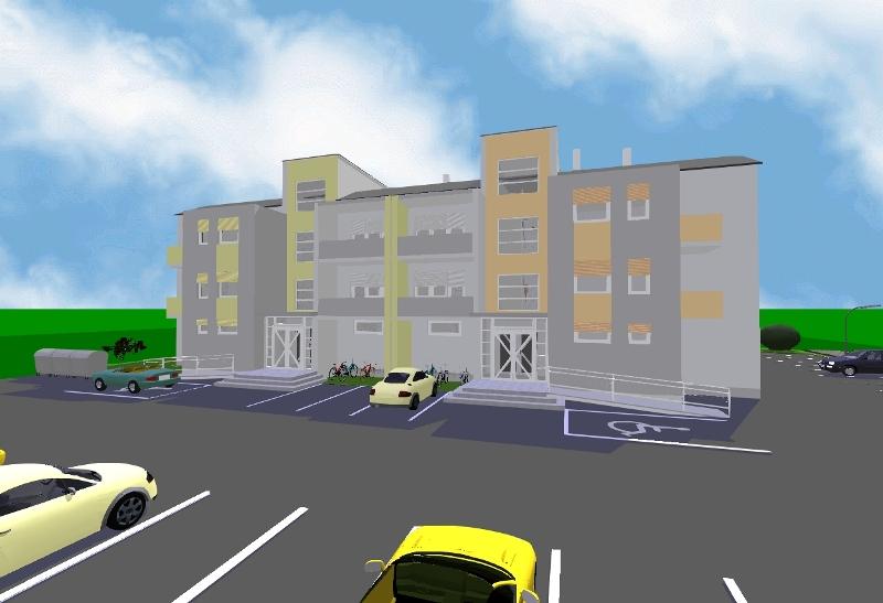 Novi stanovi, centar, J.J. Strossmayera